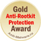 Gold Anti-Rootkit Protection Award касперский kaspersky антивирус